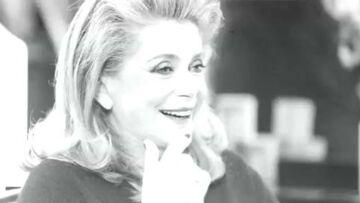 Vidéo – Catherine Deneuve: confidences d'une blonde mythique