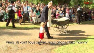 Vidéo – Prince George rebaptise Elizabeth II