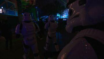 Star Wars: Sonia Rolland et Jalil Lespert à la soirée Disneyland Paris