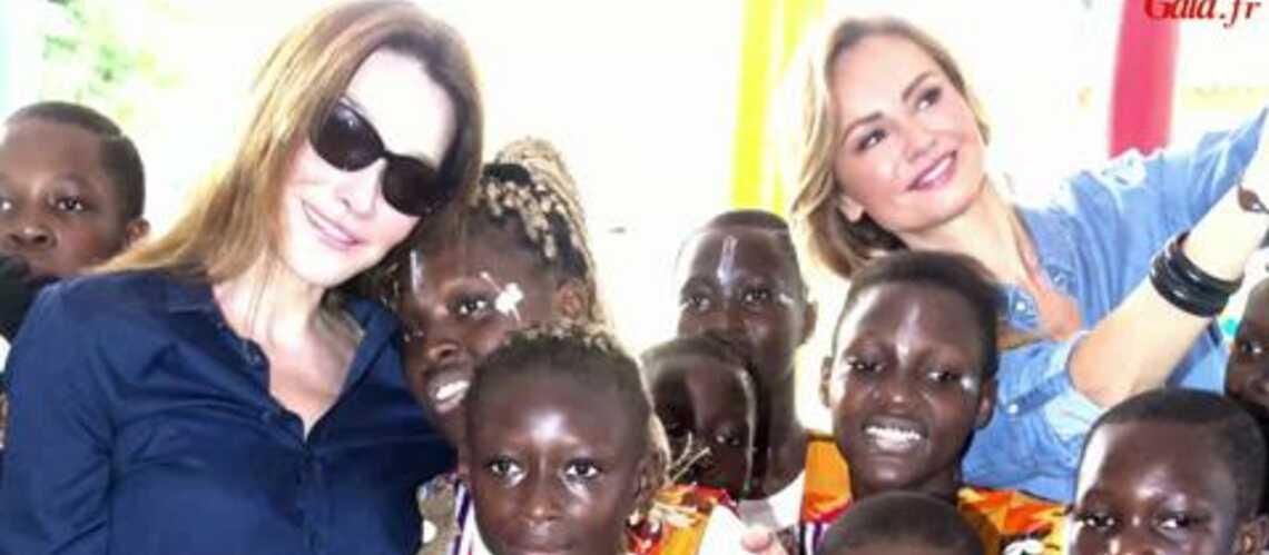 Vidéo- Carla Bruni-Sarkozy: Mission séduction en Côte d'Ivoire