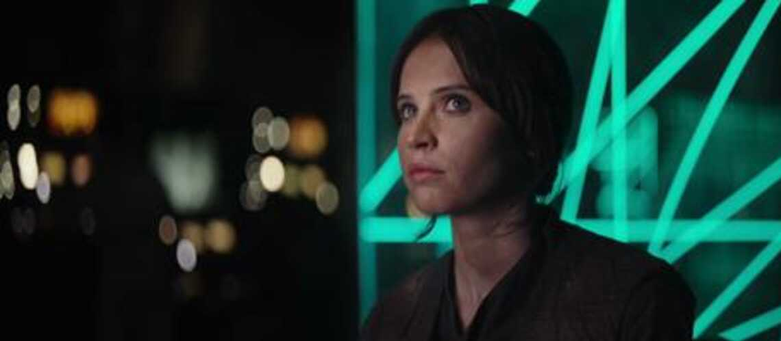 Star Wars Rogue One: Felicity Jones rebelle magnifique