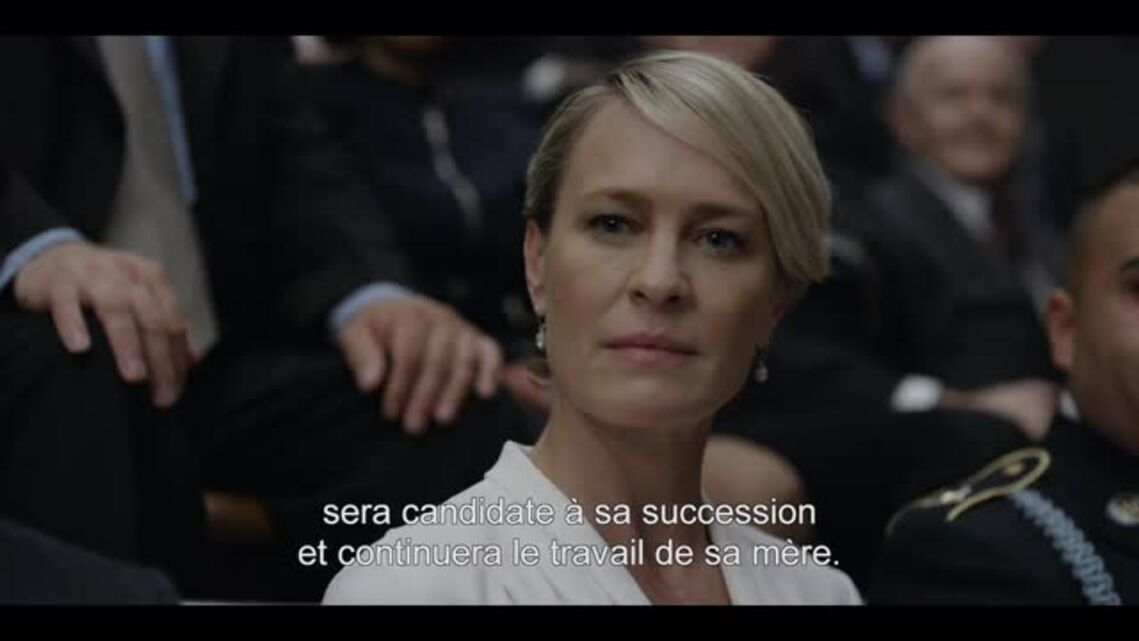 House of cards: tension palpable entre Kevin Spacey et Robin Wright