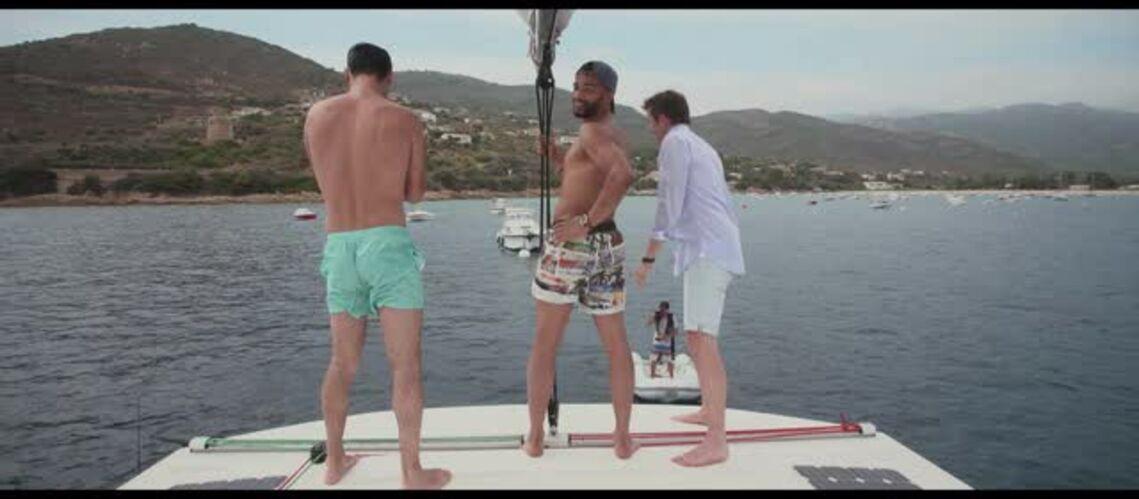EXCLU VIDEO- Olivier Dion, Damien Sargue et Brahim Zaibat plus sexy que jamais