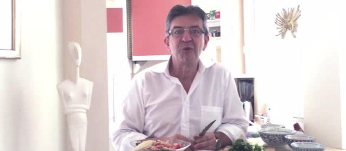 Vidéo – Jean-Luc Mélenchon: les secrets de son régime