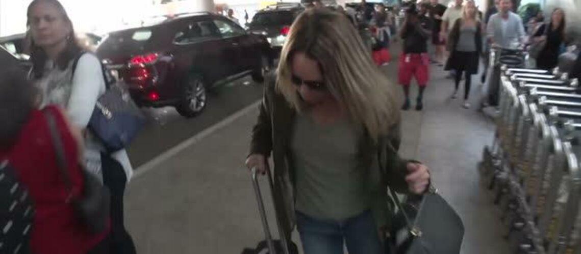 VIDEO – Vanessa Paradis sous le choc, sommée de s'exprimer sur Johnny Depp