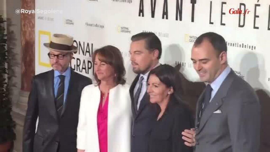 VIDEO – Ségolène Royal et Anne Hidalgo sous le charme de Leonardo DiCaprio