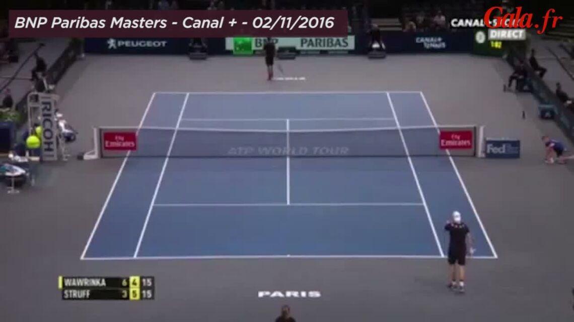 VIDEO – La star du tennis Stanislas Wawrinka recadre le ministre Jean-Vincent Placé en plein match