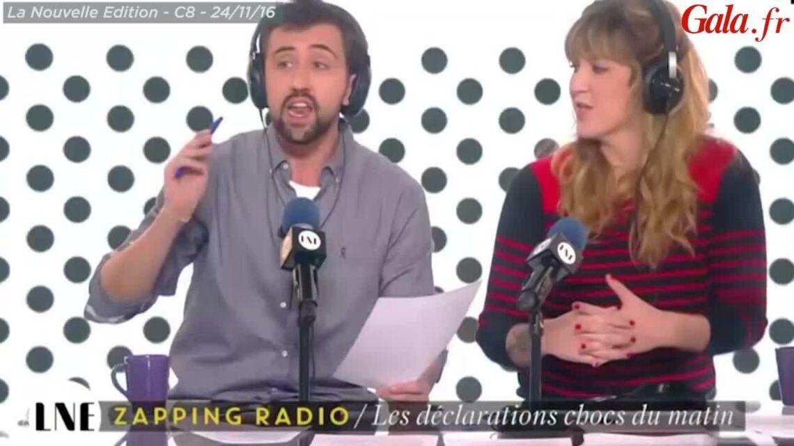 VIDEO –Léa Salamé, «outée» par NKM, réagit à l'annonce inattendue de sa grossesse