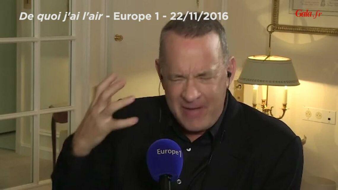 """VIDEO – Tom Hanks, fan d'Omar Sy: """"Il est extraordinaire, époustouflant"""""""