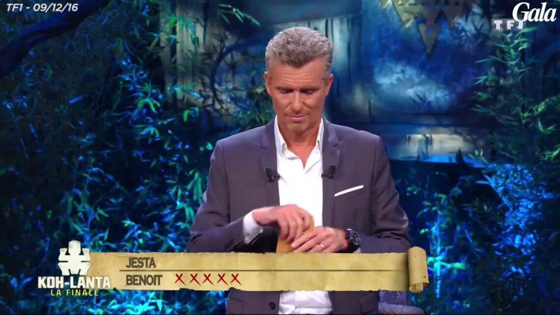 VIDEO – Koh-Lanta – Jesta explique pourquoi Benoît s'est essuyé la bouche après l'avoir embrassée