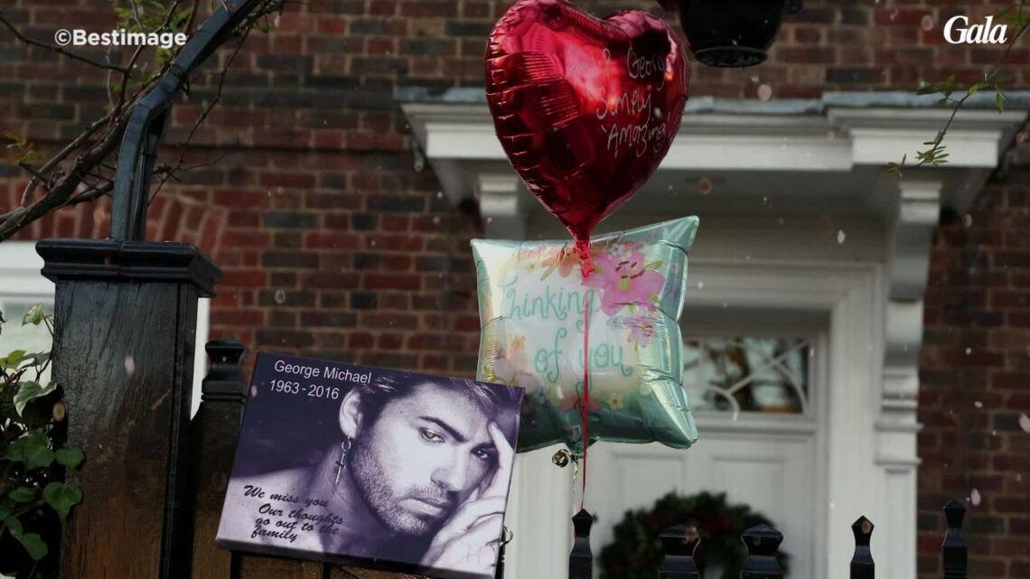 VIDEO – George Michael: l'impressionnant deuil de ses fans devant sa maison