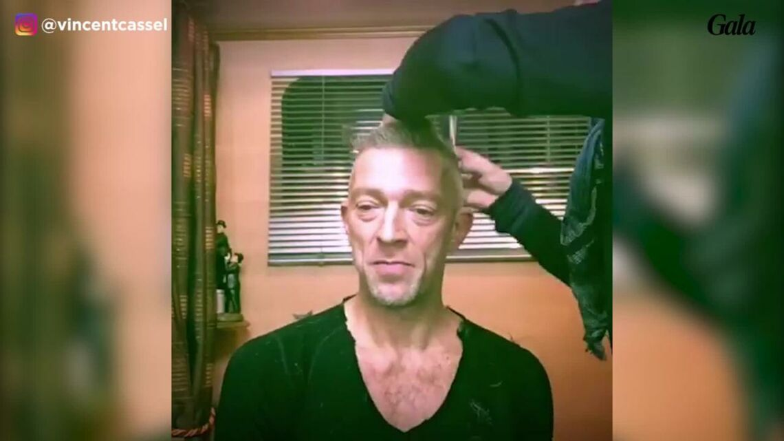 VIDEO – Vincent Cassel change radicalement de look