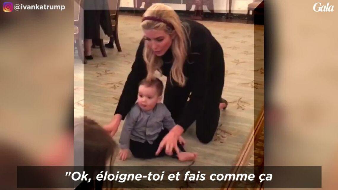 VIDEO – Le petit-fils de Donald Trump, Théodore (10 mois), fait ses premiers pas à la Maison Blanche