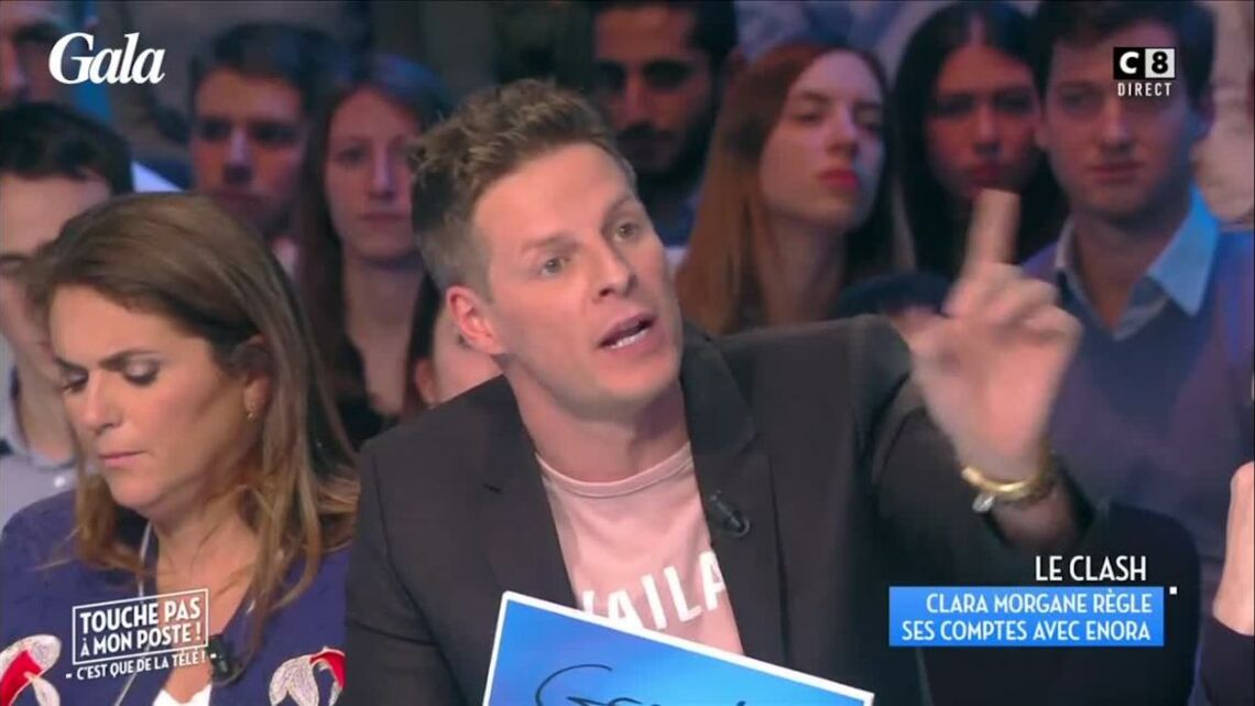 VIDEO – TPMP: Matthieu Delor­meau étrille Clara Morgane