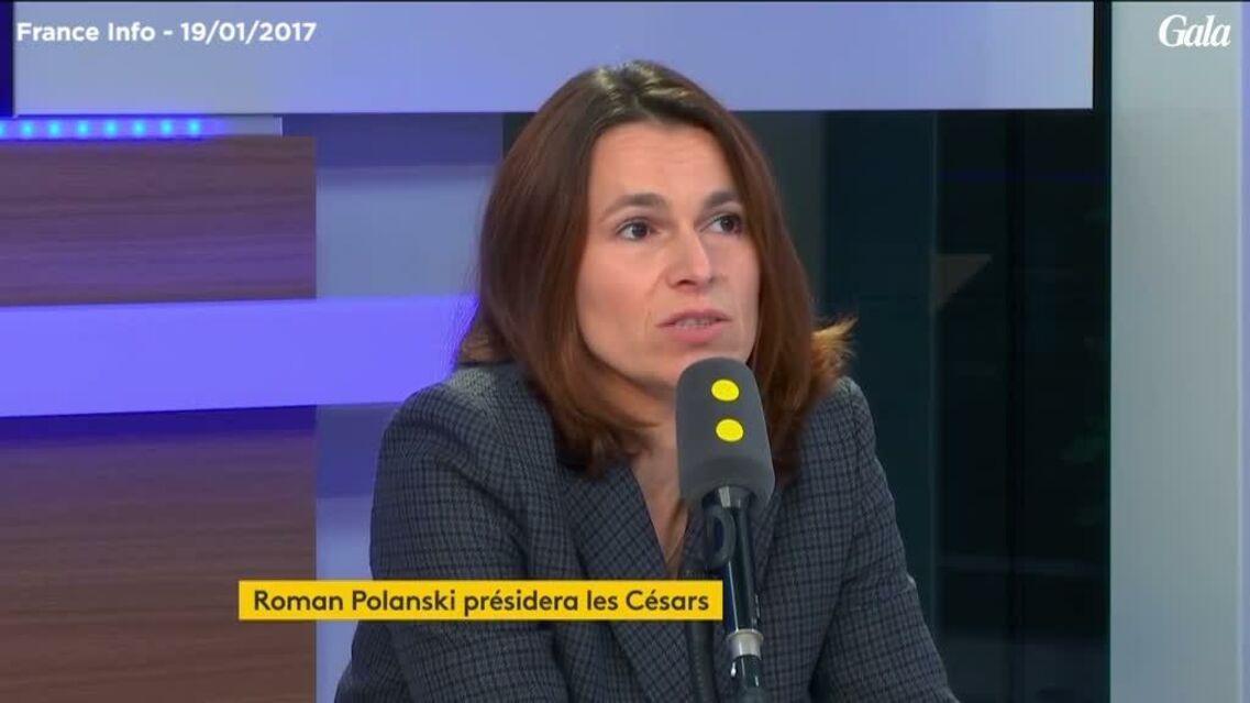 VIDEO – Césars 2017: Aurélie Filippetti, embarrassée, prend position pour Roman Polanski