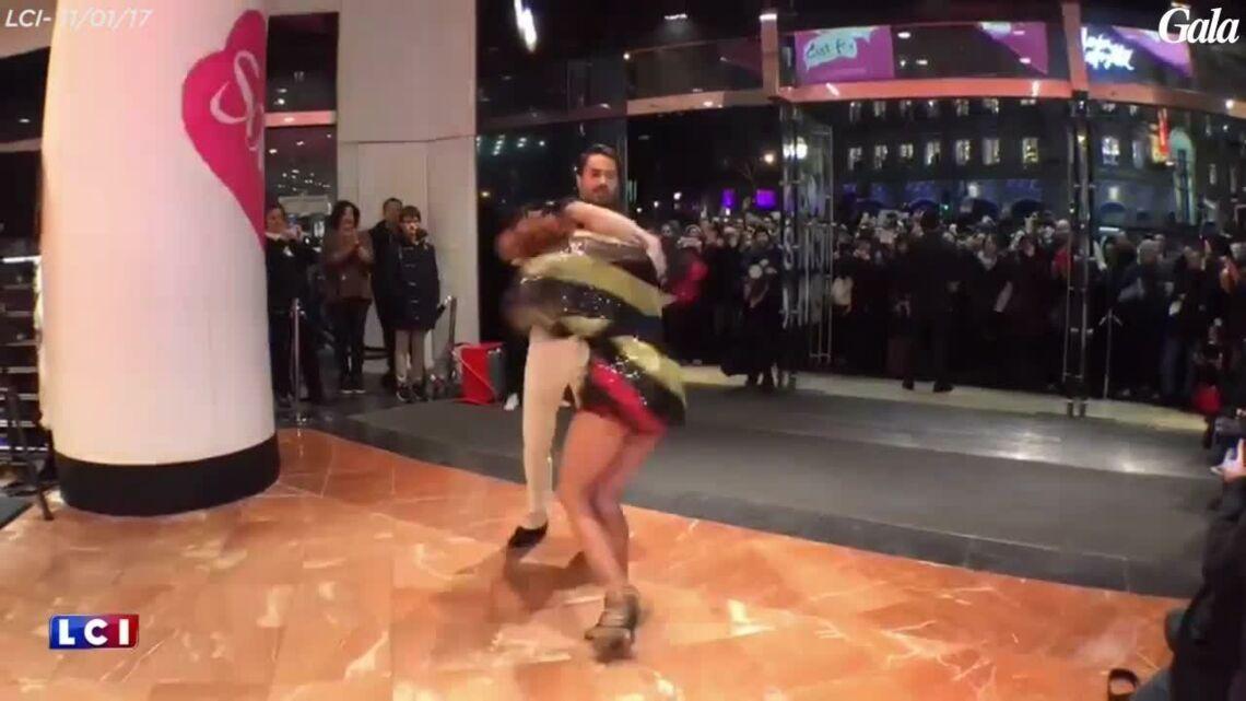 VIDEO – Fauve Hautot (DALS) danse pour le lancement des soldes aux Galeries Lafayette