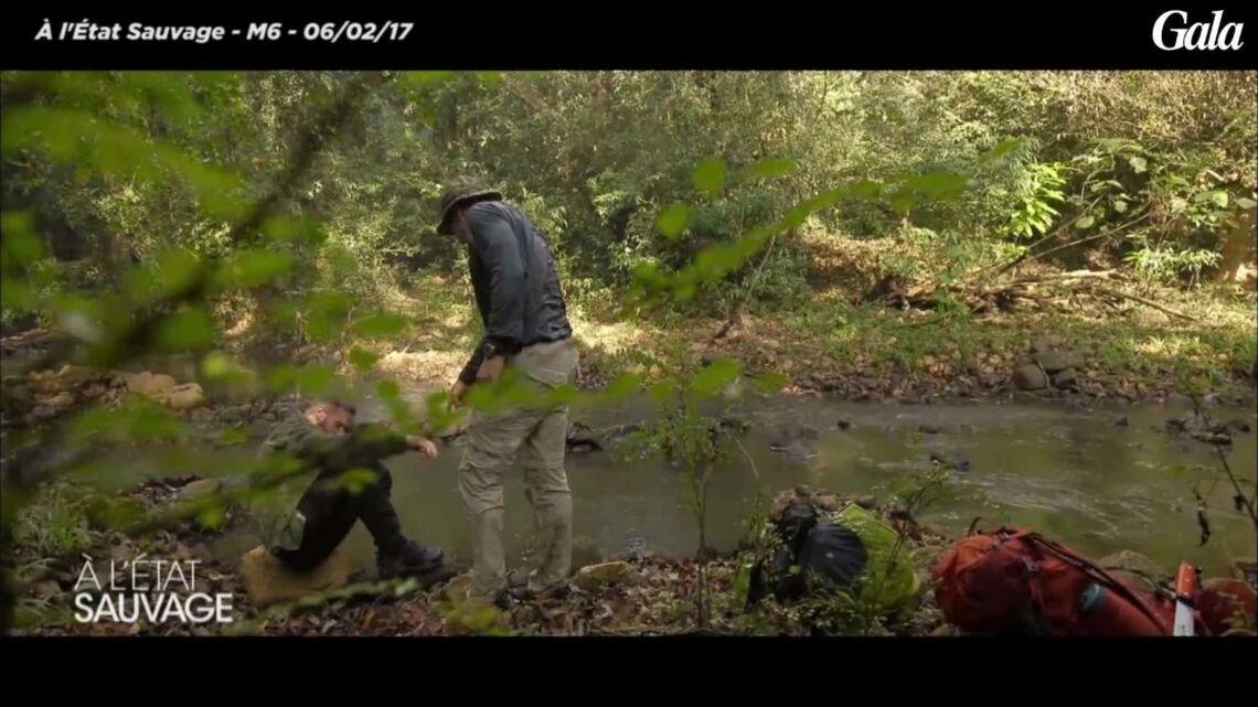 VIDEO- M Pokora dévoré par des sangsues dans «A l'Etat sauvage»