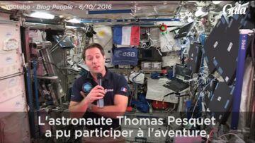 VIDEO – Thomas Pesquet chante avec Les Enfoirés depuis l'espace!