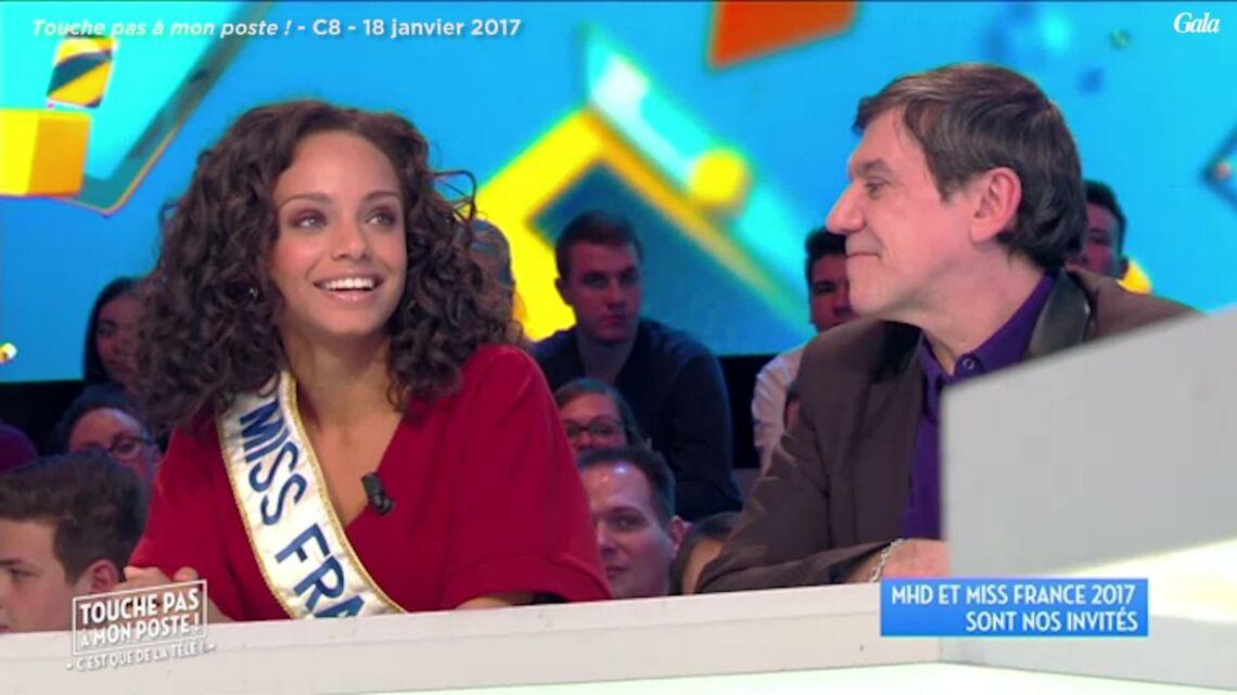 VIDEO – Miss France 2017: Alicia Aylies, gênée de répondre à une question sur Geneviève de Fontenay dans TPMP