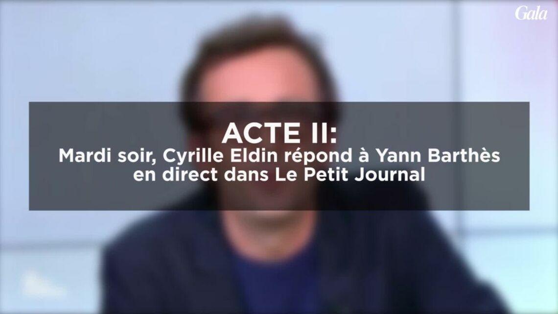 VIDEO – Pour Cyrille Eldin, les attaques de Yann Barthès sont «des diffamations injustes»