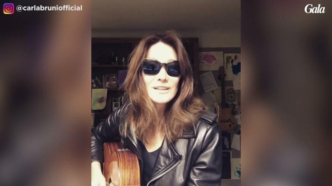 VIDEO – Carla Bruni rend hommage à Lou Reed en musique