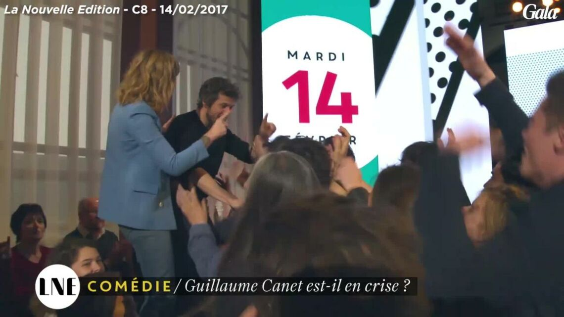 VIDEO – L'énorme surprise de Daphné Bürki à Guillaume Canet sur C8