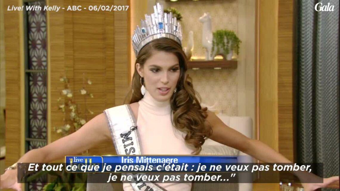 VIDEO – Miss Univers: les premières interviews américaines d'Iris Mittenaere