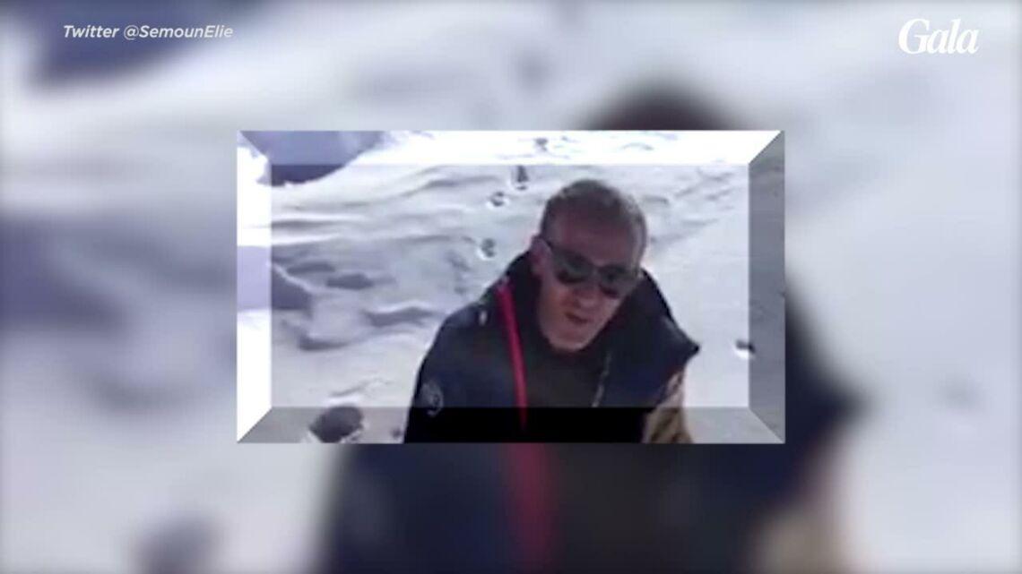 VIDEO – Elie Semoun a voulu suivre la «connasse» de Laury Thilleman sur les pistes et le regrette