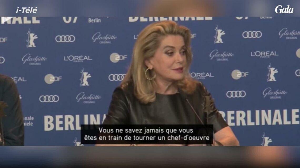 VIDEO – Catherine Deneuve recadre avec classe une journaliste qui critique son film