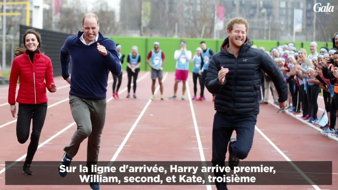VIDEO- Le prince William, battu par son frère Harry