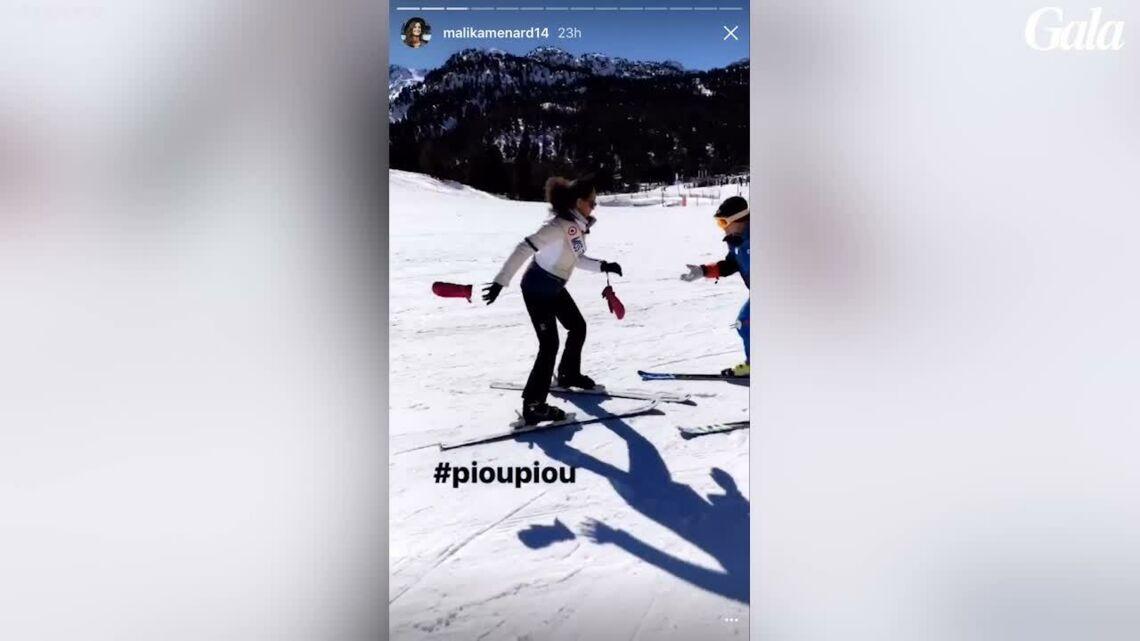 VIDEO – Alicia Aylies, Malika Ménard, Flora Coquerel… Les miss France s'éclatent au ski