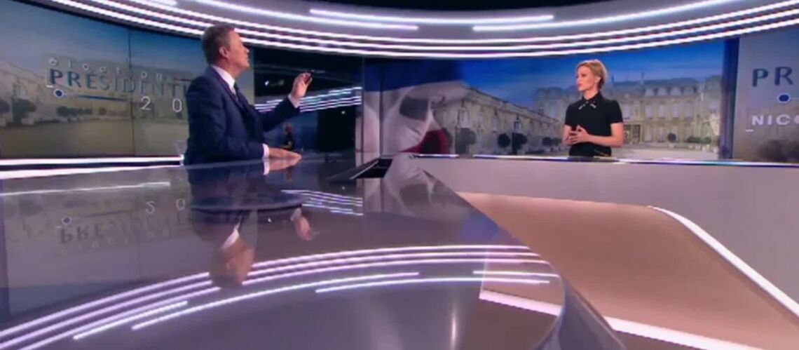 VIDEO – Furieux, Nico­las Dupont-Aignan quitte le 20h de TF1 en plein direct