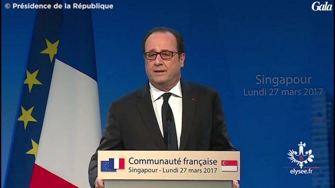 VIDEO – François Hollande blague sur sa fin de règne