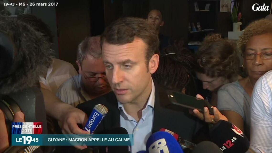VIDEO – Emmanuel Macron gaffe sur «l'île» de la Guyane