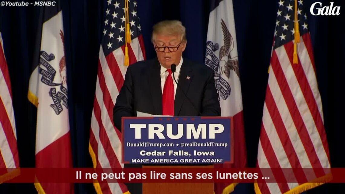 VIDEO- Pourquoi Donald Trump plisse-t-il toujours les yeux?