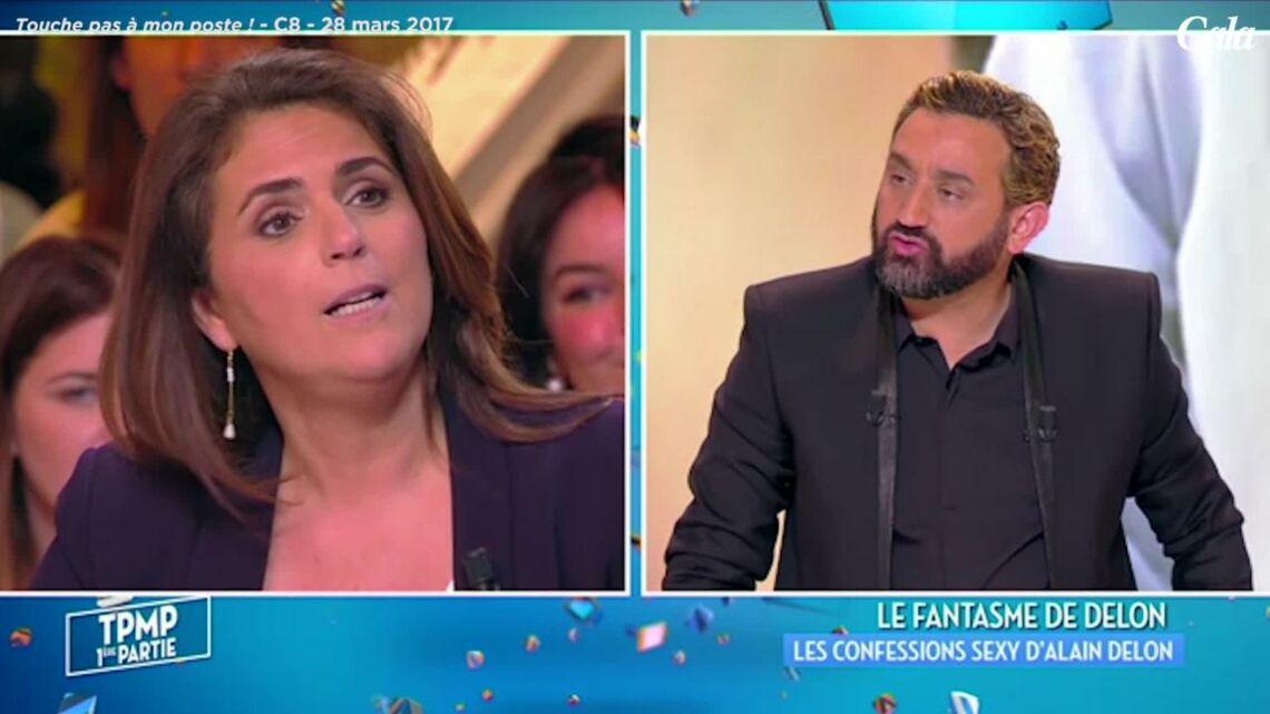 VIDEO – TPMP: Quand Alain Delon courtisait Valérie Bénaïm