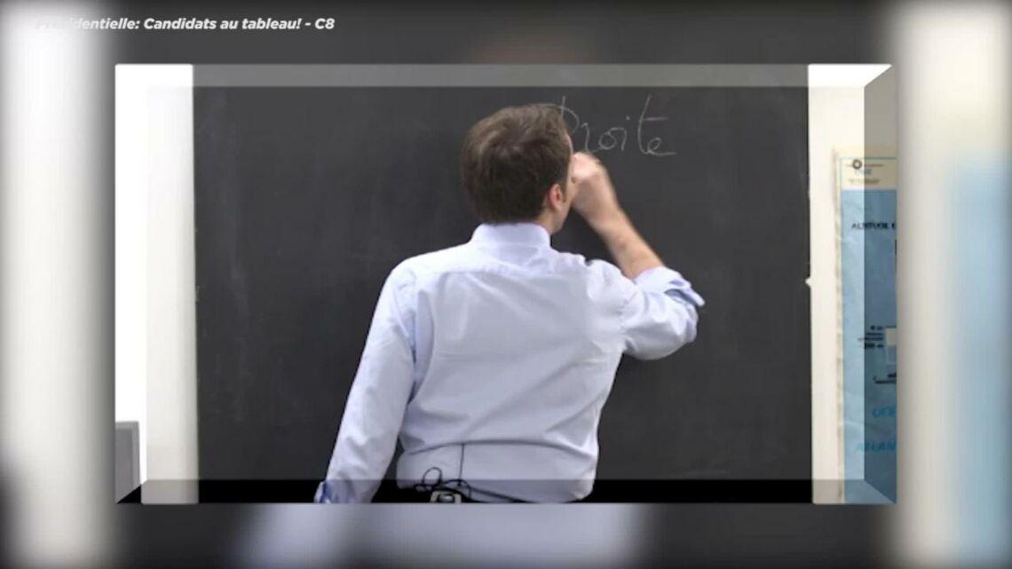VIDEO – Quand Emmanuel Macron explique la différence entre la droite et la gauche aux enfants
