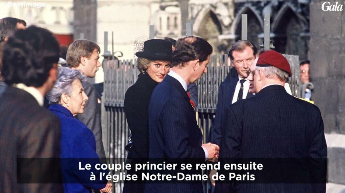 GALA VIDEO – Revivez la dernière visite de la Princesse Diana et du Prince Charles il y a 29 ans