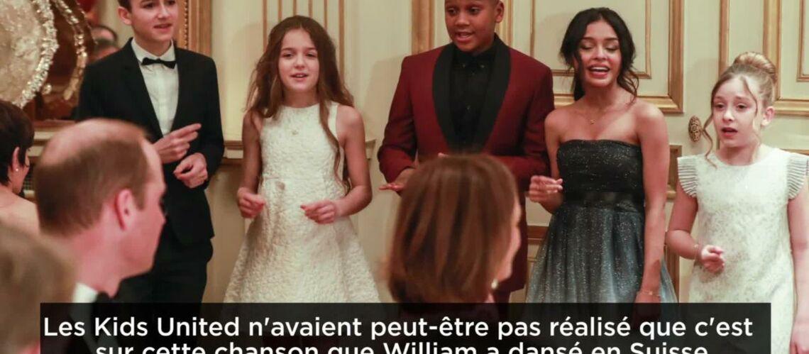 VIDEO GALA – Les Kids United ont chanté pour Kate et William!