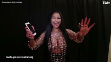 VIDEO – Nicki Minaj essaye d'imiter Céline Dion