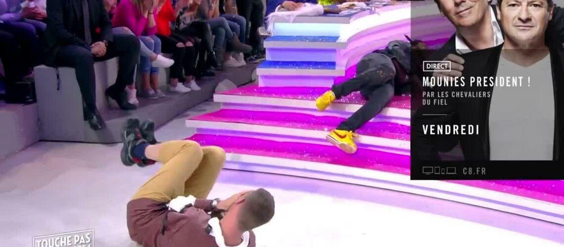 VIDEO – Jean-Michel Maire perd son pantalon sur le plateau de TPMP et en montre beaucoup trop