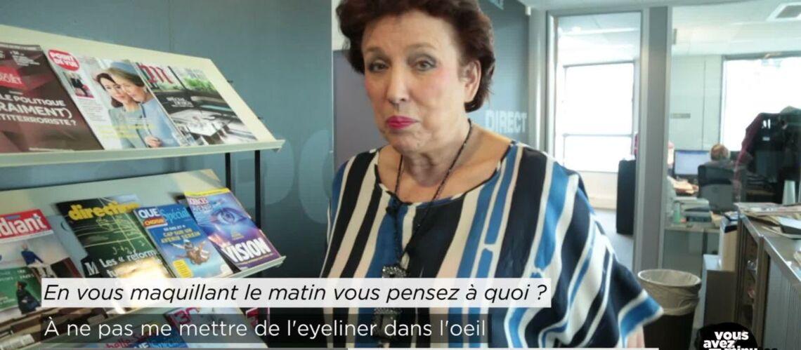 EXCLU GALA – Roselyne Bachelot: «Je sais bien imiter… Edouard Balladur»