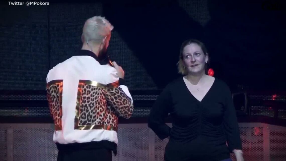 VIDEO – M Pokora organise une demande en mariage sur scène