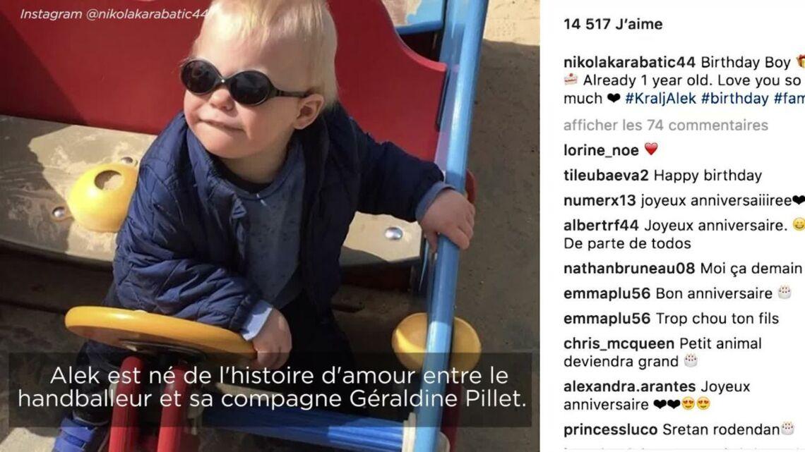 VIDEO – Adorable… Le fils de Nikola Karabatic, Alek, fête son premier anniversaire