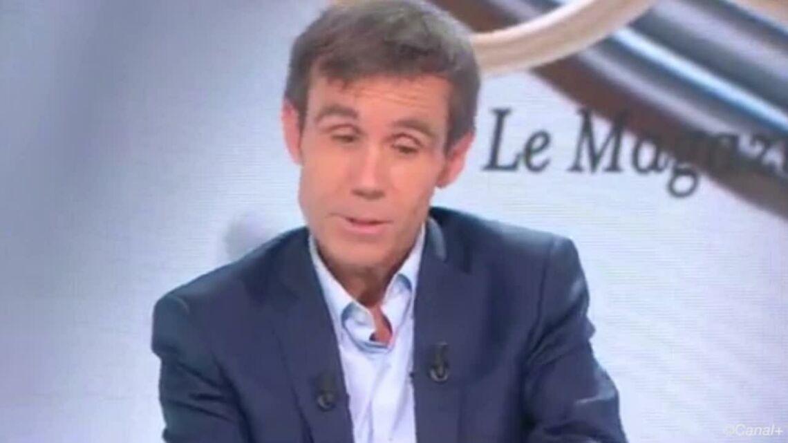 VIDEO – David Pujadas explique enfin pourquoi il a pris la main de Léa Salamé face à Marine Le Pen