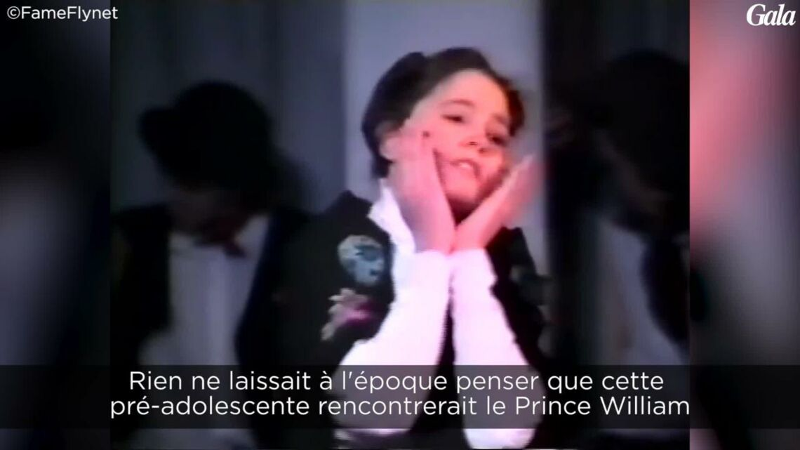 VIDEO – Avant d'être duchesse, Kate Middleton était chanteuse