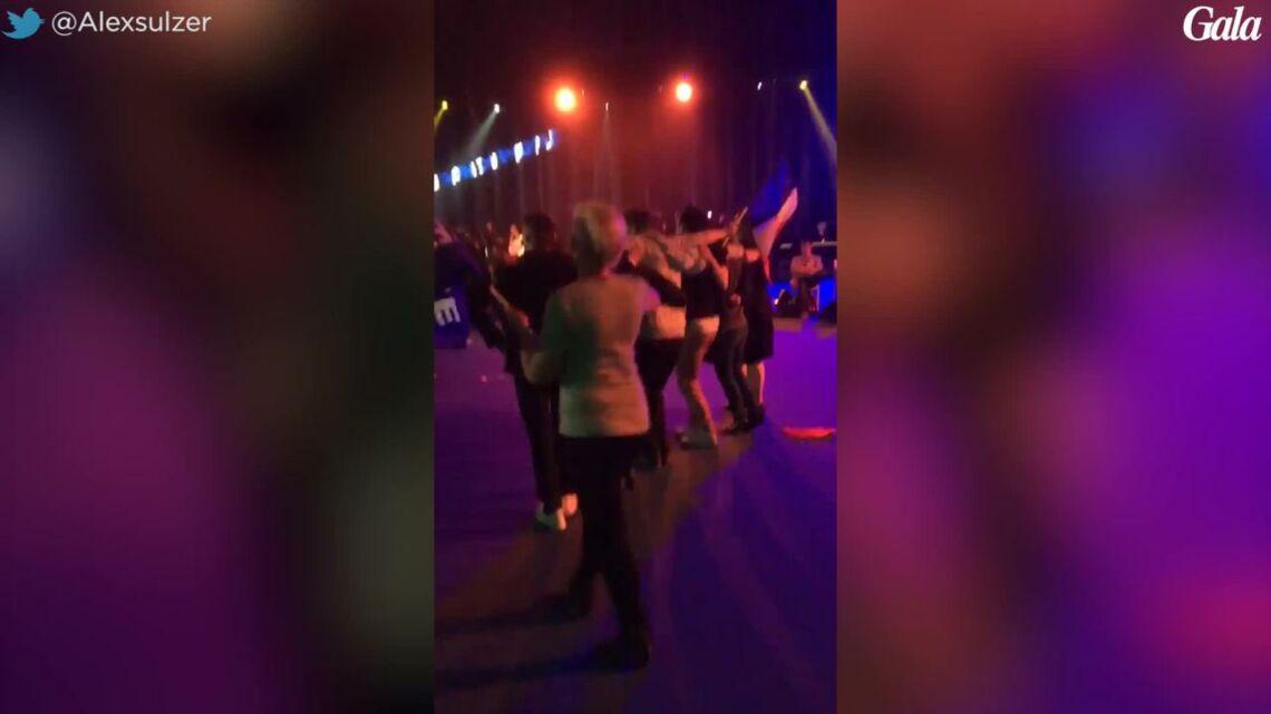 VIDEO – Ambiance sur le dance floor au QG de Marine Le Pen, les images qui font le buzz