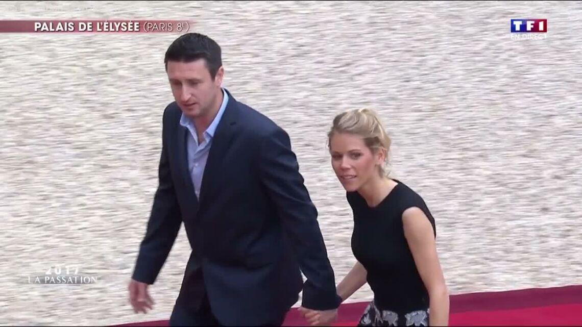 VIDEO – Trop décontracté? Le mari de Tiphaine Auzière, sans cravate à l'Élysée, fait le buzz