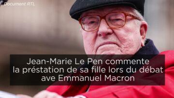 VIDEO – Entre Marine Le Pen et son père la passe d'arme continue