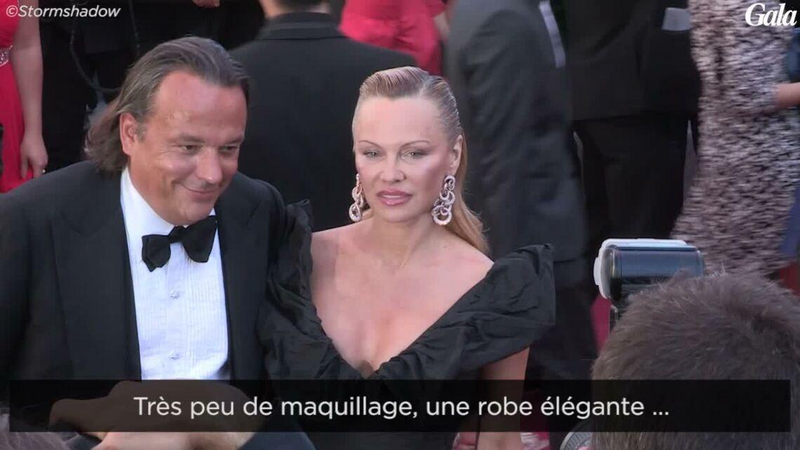 VIDEO – Pamela Anderson à Cannes: d'étranges bleus sur son bras interpellent